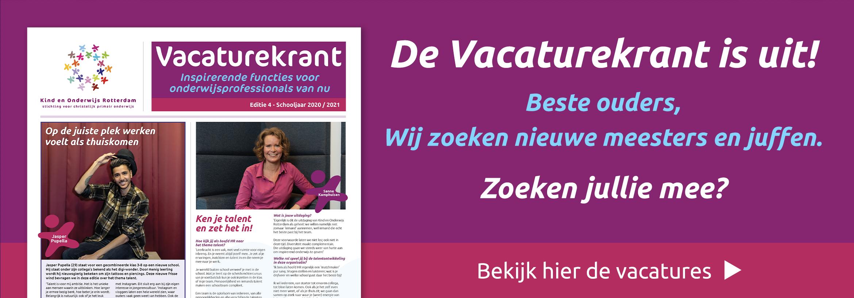 Vacatures Kind en Onderwijs Rotterdam
